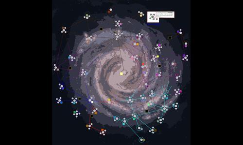 Mass Effect Star Map.Mass Effect Medium Galaxy Map Warzone Better Than Hasbro S Risk